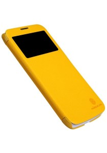 (Original) Nillkin Lenovo A880/A889 Fresh Series Leather Case (Yellow)
