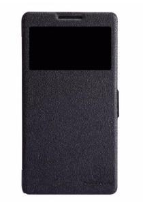 (Original) Nillkin Lenovo A889 Fresh Series Leather Case (Black)