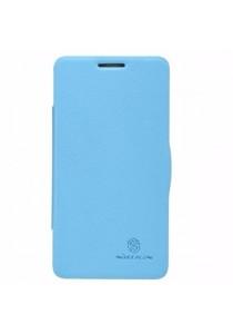 (Original) Nillkin Lenovo P780 Fresh Series Leather Case (Blue)