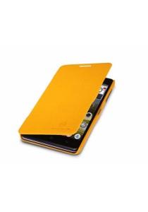 (Original) Nillkin Lenovo P780 Fresh Series Leather Case (Yellow)