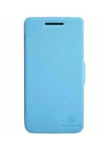 (Original) Nillkin Lenovo S960 (VIBE X) Fresh Series Leather Case (Blue)