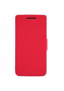 (Original) Nillkin Lenovo S960 (VIBE X) Fresh Series Leather Case (Red)