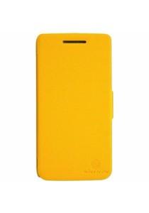 (Original) Nillkin Lenovo S960 (VIBE X) Fresh Series Leather Case (Yellow)