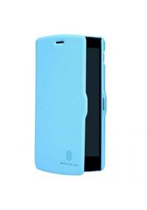 (Original) Nillkin Moto G Fresh Series Leather Case (Blue)