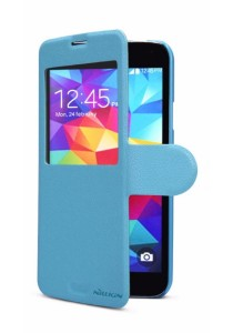 (Original) Nillkin Samsung Galaxy S5 (G900) Fresh Series Leather Case (Blue)
