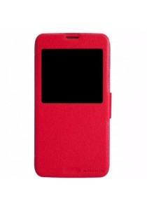 (Original) Nillkin Samsung Galaxy S5 (G900) Fresh Series Leather Case (Red)