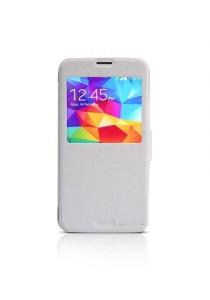 (Original) Nillkin Samsung Galaxy S5 (G900) Fresh Series Leather Case (White)