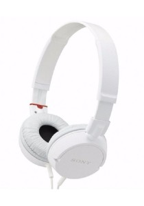 (Import) Sony MDR-ZX100 Stereo Headphones (White)