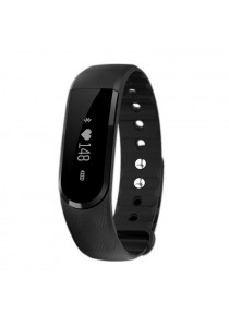 ID101 Smart Bracelet Bluetooth 4.0 Heart Rate Monitor Pedometer Sleep Tracker Anti-lost for Android iOS
