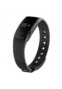 ID107 Heart Rate Monitor Smartband Pulse Sports Fitness Tracker for Android iOS (Black)