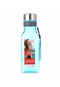 Fashion Sport Square Drinking Water Bottle 720ml (Blue)
