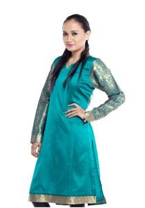Farha Design Katrina Silk Kurthi-L