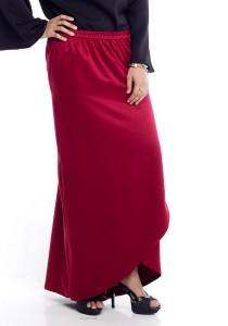 Farha Design Zaira Tulip Skirt - Maroon