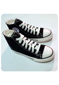 Classic Highcut Canvas Shoes (Black)