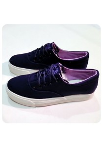 Classic Canvas Shoes (Blue)