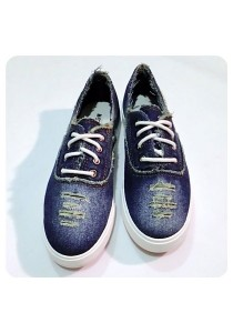 Jeans Canvas Shoes (Blue)