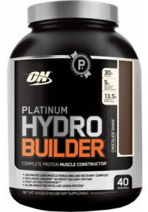 Optimum Nutrition Platinum HydroBuilder, Chocolate Shake, 5lbs