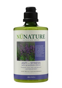 Nunature Anti- Stress Bath & Shower Cream 450ml