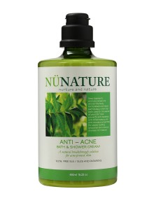 Nunature Anti- Acne Bath & Shower Cream 450ml