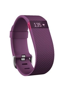 Fitbit Charge HR Wireless Activity Wristband (Purple) Small