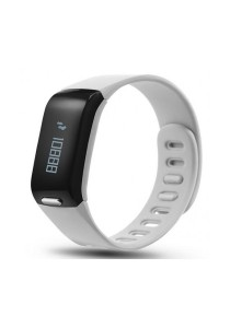 HeHa Dao Fit Trackers with Clock Pedometer Calorie Burned Tracker (Grey)