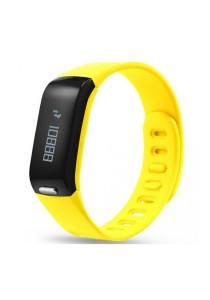 HeHa Wireless Fitness Activity and Sleep Monitor Waterproof Fitness Trackers (Yellow)