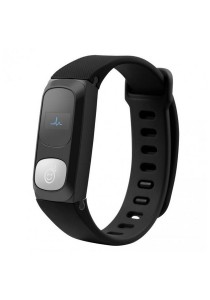 HeHa Modern Fitness Activity Tracker Waterproof Personal Fit Band Fitness Tracker (Black)