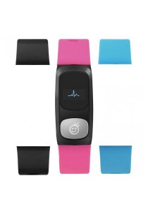 HeHa Qi Bluetooth Heart Rate Monitor Health Fitness for Women (Pink/Blue/Black)