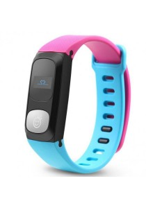 HeHa Bluetooth Heart Rate Monitor Health Fitness Band for Women (Hot Pink/Blue)