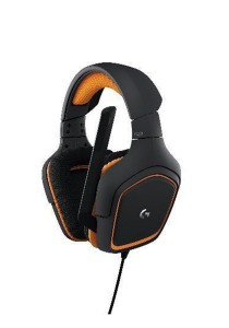 Logitech G231 Prodigy Stereo Gaming Headset with Microphone (981-000625)