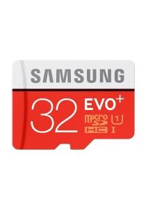 Samsung Memory 32GB Evo Plus MicroSDHC 80 Mb/s UHS-I Grade 1 Class 10 Memory Card (MB-MC32D)