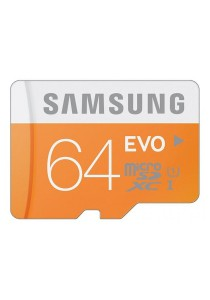 Samsung 64GB Evo Class 10 Micro SDXC Up To 48MB/s (MB-MP64D)
