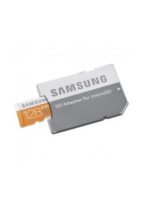 Samsung MB-MP64DA Evo 128GB MicroSD XC Evo Class 10 UHS-1up to 48MB/s with Adapter