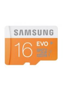 Samsung MicroSDHC 16GB Evo Memory Card (MB-MP16D)
