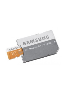 Samsung MB-MP16DA Memory Card Class10 MicroSDHC with Adaptor
