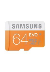 Samsung MicroSDHC 64GB Evo Memory Card (MB-MP64D)