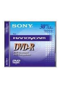 Sony Mini DVD - R 30 Minutes 1.4GB DMR30- 5 PCS (1 Box)