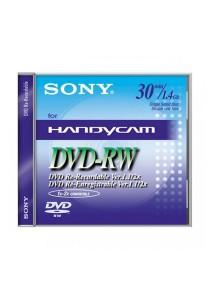 Sony Mini DVD - RW 30 Minutes 1.4GB DMW30- 5 PCS (1 Box)