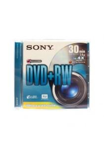 Sony Mini DVD + RW 30 Minutes 1.4GB DPW30A2 - 2 pcs