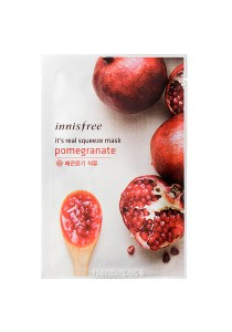 Innisfree It's Real Squeeze Mask - Pomegranate (1sheet 20ml)