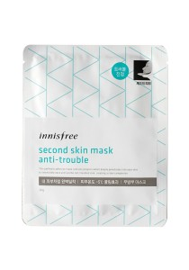 Innisfree Second Skin Mask - Anti-Trouble (20g)