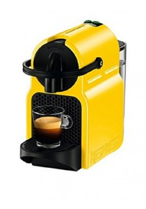 Nespresso Inissia Coffee Capsules Machines (Yellow)