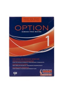 ISO Option Perm Pack Curl Hair Perming Lotion (Option 1 - for normal and previously permed hair)