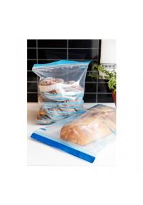 Re-Usable Double Sealed Plastic Bag (30pcs) (BLUE)