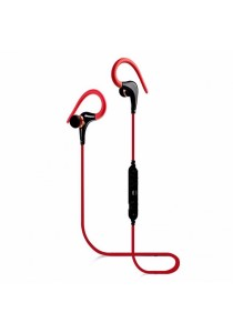 Awei A890BL Bluetooth 4.0 Sweat Proof Sport Stereo Earphone with Microphone (Red)