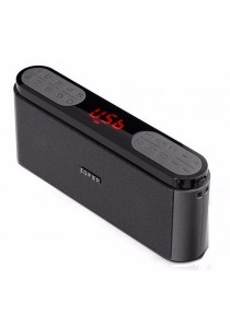 Edifier MP19 Portable FM Radio / Aux In / Micro SD Card Player (Grey)