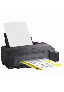 Epson A3 Color L1300 Inkjet Printer with Water Tank System Black