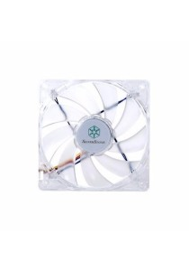 SilverStone FN121-P Case Fan (White LED)