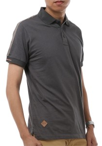 InStyle Republic Men / Unisex Polo T-Shirt (Grey)