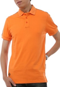 InStyle Republic Men / Unisex Polo T-Shirt (Orange)